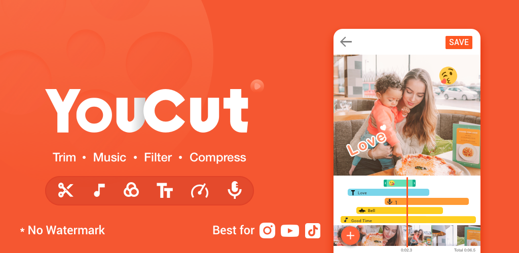 YouCut App – Best Video Maker And Editor For Android